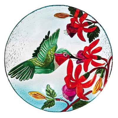Hummingbird Flutter 18 in. Birdbath