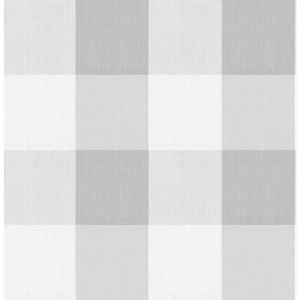 Grey Vinyl Peel & Stick Washable Wallpaper Roll (Covers 30.75 Sq. Ft.)