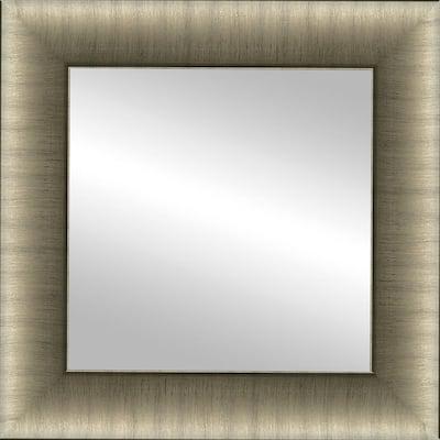 12x12 Mari Champagne Framed Mirror