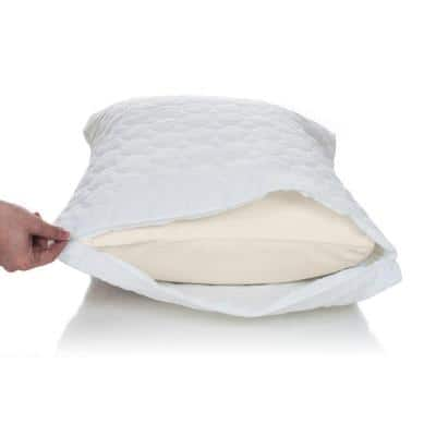 Cotton Bed Bug and Dust Mite King Pillow Protector