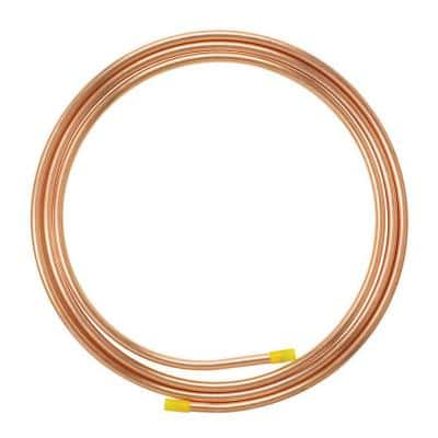 1/4 in. O.D. x 10 ft. Copper Soft Type Refrigeration Coil