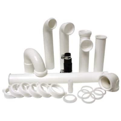 Garbage Disposal Installation Kit in White
