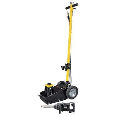 22-Ton Axle Jack and 1 in. Air Impact Wrench Combo