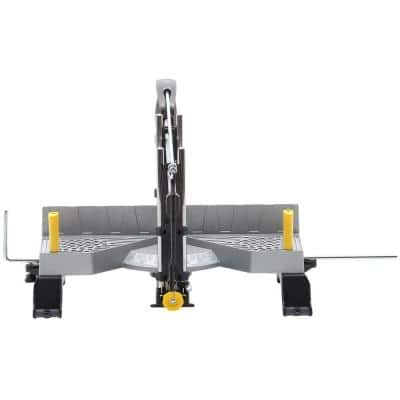 27.75 in. Adjustable Angle Clamping Miter Box with 22 in. Saw