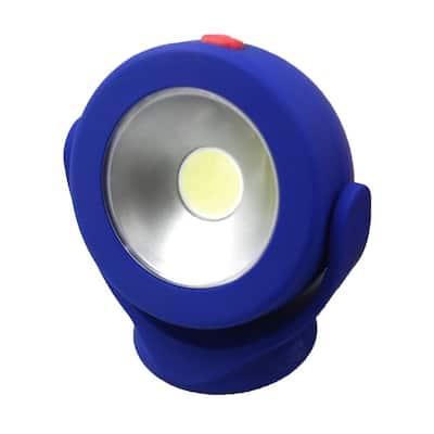 Battery Operated Blue LED Mini Work Light