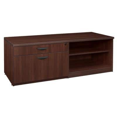 Legacy Java Lateral/ Open Shelf Low Credenza