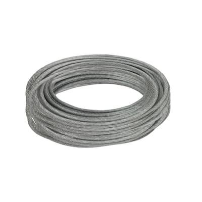 3/32 in. x 50 ft. Galvanized Vinyl Coated Steel Wire Rope
