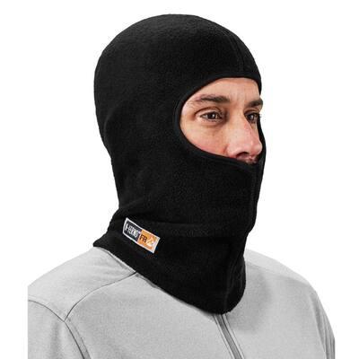 N-Ferno Black Modacrylic Blend FR Fleece Balaclava Cap
