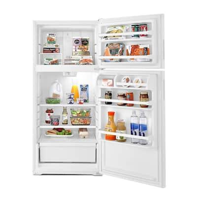 14.3 cu. ft. Top Freezer Refrigerator in White