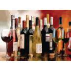 Multi Wine Party Placemat Set (4-Pack)