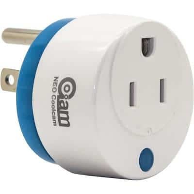 Mini Round Wi-Fi Smart Plug Works with Alexa and Google Home for Voice Control Save Energy and Reduce Electric Bill