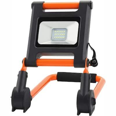 700-Lumen Portable Rechargeable LED 6500K Worklight with Adjustable Frame
