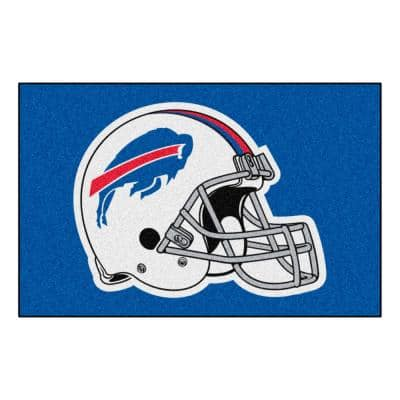 NFL - Buffalo Bills Helmet Rug - 19in. x 30in.