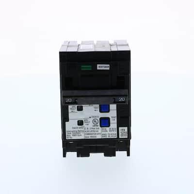 20 Amp 2-Pole Combination Type AFCI Plug-On Neutral Circuit breaker