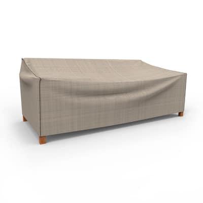 Rust-Oleum NeverWet Mojave Extra-Extra Large Black Ivory Patio Sofa Cover