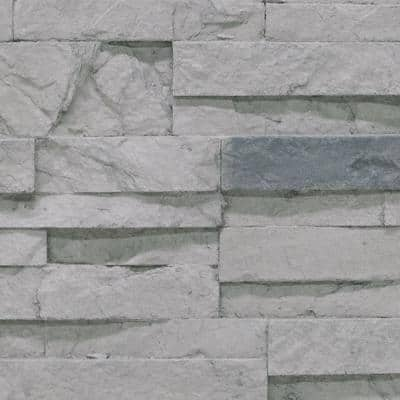 Stacked Stone 11 in. x 11 in. Cascade Canyon Faux Stone Siding Sample