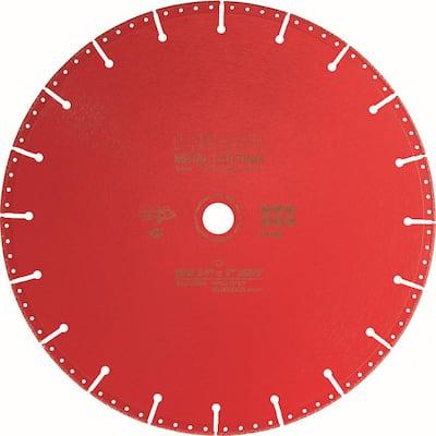 12 in. x 1 in. SPX Diamond Metal Cutting Blade