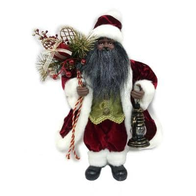 16 in. Ethnic Standing Santa