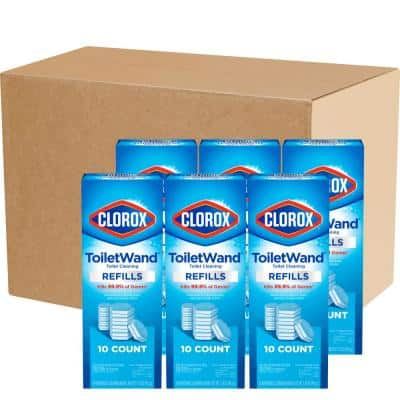 ToiletWand Disinfecting Disposable Toilet Bowl Cleaner Head Refills (60-Count)