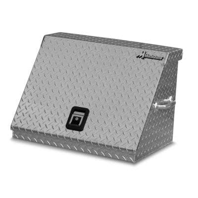 27 in. 0-Drawer Portable Top Chest in Aluminum