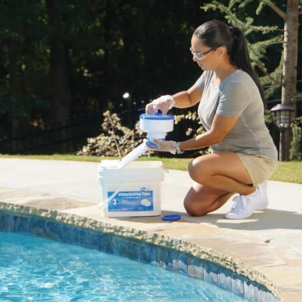 Pool Time 35 Lb Chlorinating Tablets 21827ptm The Home Depot