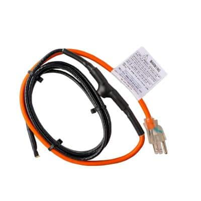 3 ft. Pipe Heating Cable with Thermostat