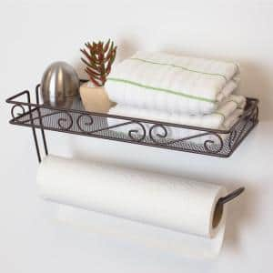 Scroll Collection Wall-Mount Bronze Paper Towel