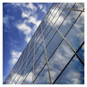 24 in. x 100 ft. RPRGY Premium One Way Mirror Heat Control and Daytime Privacy Silver/Gray Window Film