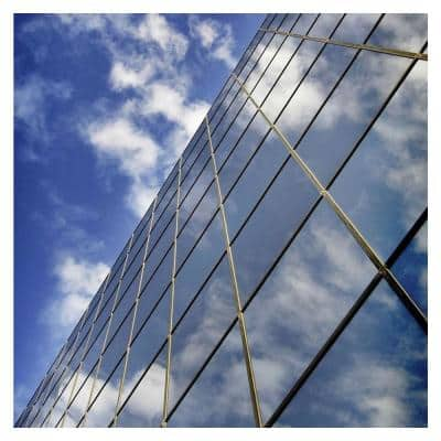 24 in. x 50 ft. RPRGY Premium One Way Mirror Heat Control and Daytime Privacy Silver/Gray Window Film
