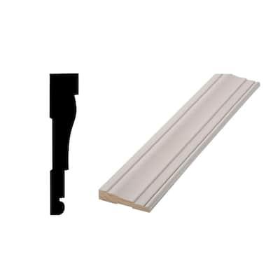 WM 445 11/16 in. x 3-1/4 in. Primed Finger-Joint Door and Window Casing