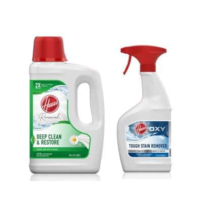 64 oz. Renewal Carpet Cleaner Solution & 22 oz. Oxy Stain Remover Carpet Cleaner Pretreatment Spray Pack Combo Kit