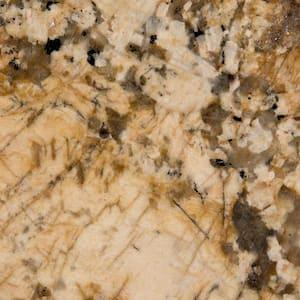 3 in. x 3 in. Granite Countertop Sample in Solaris