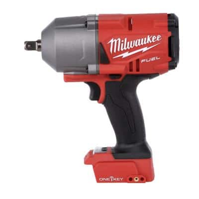 M18 FUEL ONE-KEY 18-Volt Lithium-Ion Brushless Cordless 1/2 in. Impact Wrench with Pin Detent (Tool-Only)