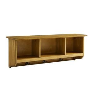 Brennan Natural Entryway Storage Shelf