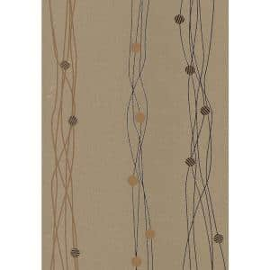 Gregory Bronze Geometric Peelable Roll Wallpaper (Covers 57.8 sq. ft.)