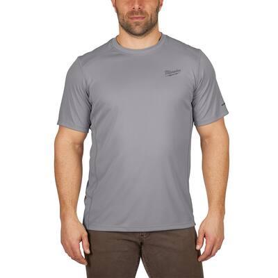 Gen II Men's Work Skin 3XL Gray Light Weight Performance Short-Sleeve T-Shirt