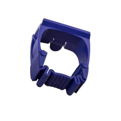 Purple One-Size-Fits-All Holders for 21.5 in. or 37 in. Rail (2-Pack)