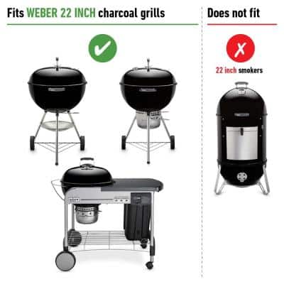 Hinged Replacement Cooking Grate for 22-1/2 in. One-Touch, Performer, Bar-B-Kettle & Master-Touch Charcoal Grill