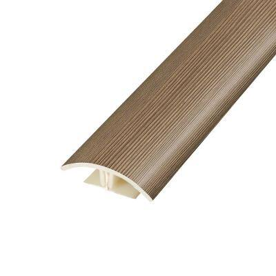 Burleson Pine 0.37 in. Thick x 1.75 in. Wide x 78.7 in. Length Vinyl 2-in-1 Molding