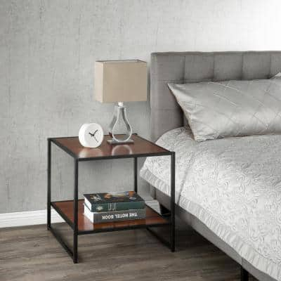 Dane Modern Studio Collection 20 Inch Square Side Table