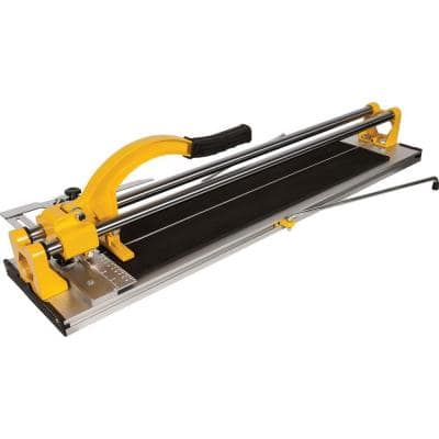 24 in. Ceramic and Porcelain Professional Tile Cutter with 7/8 in. Scoring Wheel with Ball Bearings