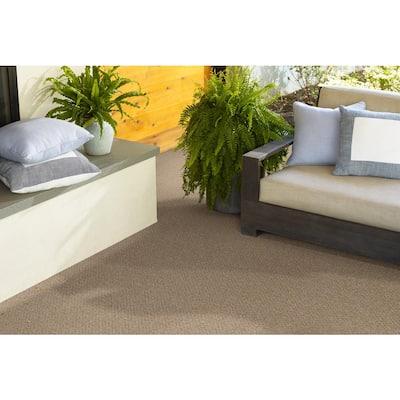 Fallbrook - Color Honey Bear Indoor/Outdoor Berber Brown Carpet