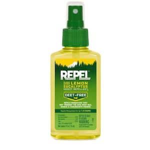 Lemon Eucalyptus 4 oz Plant-Based Insect Repellent DEET-Free Pump Spray