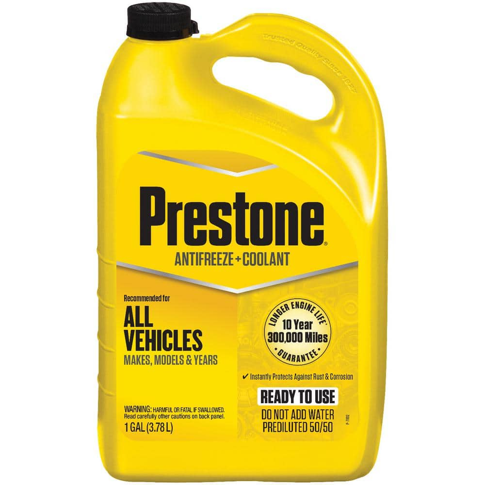 Prestone Prestone All Vehicles - 10yr/300k mi - Antifreeze+Coolant (1 Gal - Ready to Use)