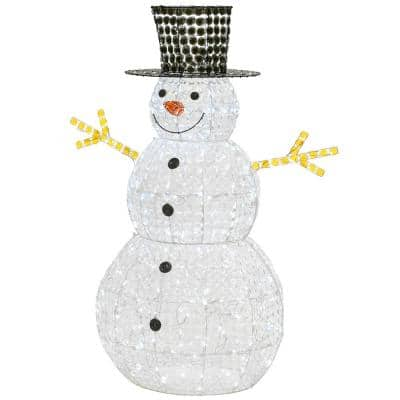 Snowman Outdoor Christmas Decorations Christmas Decorations The Home Depot