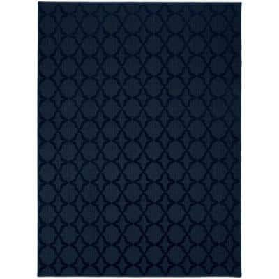Sparta 9 ft. x 12 ft. Navy Area Rug