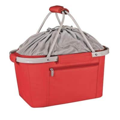 26-Can Metro Red Basket Cooler Tote