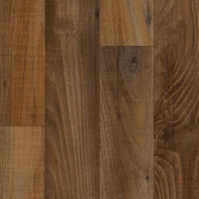 Smokehouse Oak Honey Wood Residential Vinyl Sheet Flooring 13.2ft. Wide x Cut to Length