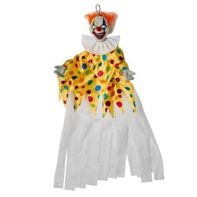 36 in. Animated Clown