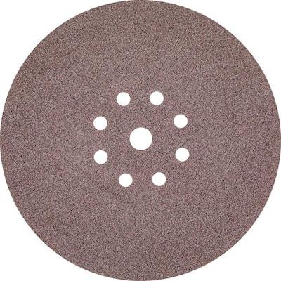 9 in. Round Abrasive Disc, Hook & Loop, 120-Grit (25/Pack)